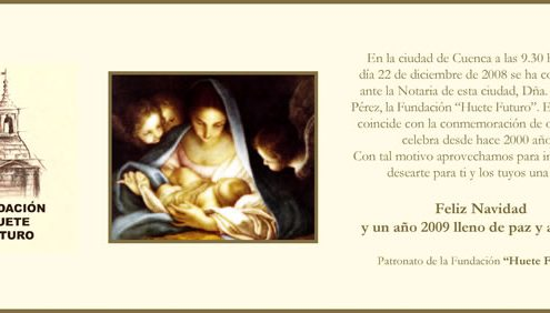 Huete Futuro - Felicitación Navidad 2008-2009